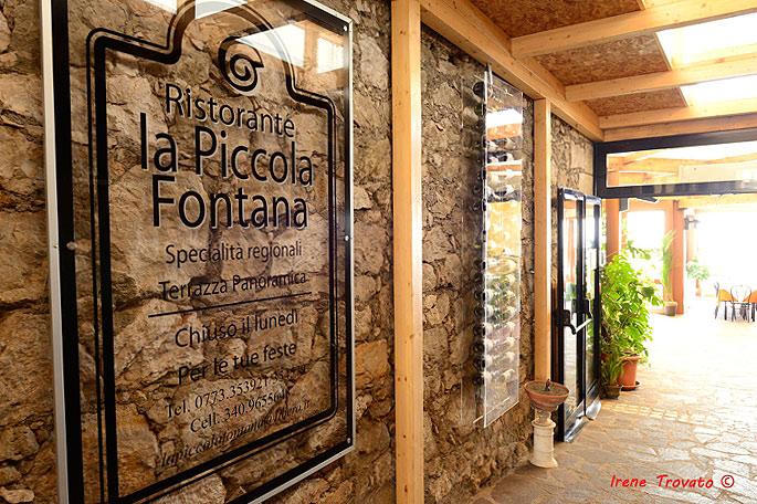 Il ristorante La Piccola Fontana nasce nell'anno 1996